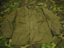 ALPHA INDUSTRIES USA US army ISSUE M65 FIELD COAT COMBAT jacket VIETNAM OG LARGE