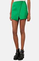 Topshop NEW*** Green Luxe Satin Wrap Skort RRP £42.00