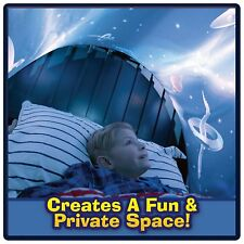 Space Adventure Dream Tents Kids Pop Up Bed Fun Playhouse Without Reading Light
