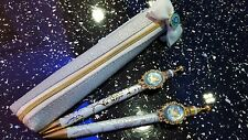 Sailor Moon 20th Anniversary-Sailor Mercury Pen Pencil and Pencil Case - Rare