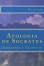Apologia de Socrates (Spanish) Edition by Platon (2017, Paperback)
