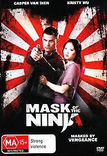 Mask Of The Ninja  DVD  B3