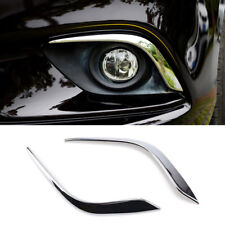 Fit For Mazda 6 Atenza Gj 2014-2016 Chrome Front Fog Light Lamp Cover Trim Strip