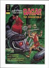 """DAGAR THE INVINCIBLE #4 [1973 FN] """"VENGEANCE-SWEET VENGEANCE"""""""