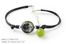 Kerry Blue Terrier.Bracelet for people who love dogs.Photojewelry. Handmade. Usa