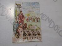 Tarjeta Postal Época Proclamación de Reino Italia 50° Aniversario Nuevo Primer