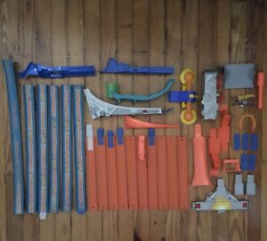 Lot of 38 Assorted Hot Wheels Tracks and Parts 2011-2013