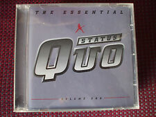 The Essential Status Quo CD,Down Down,Rockin'All Over The World,The Wanderer.VGC