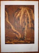 Broto José Manuel Lithographie signée art abstrait abstraction Trama Saragosse