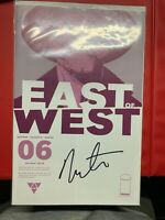 East of West #6 first printing SIGNED by Nick Dragotta Image Comics NM!
