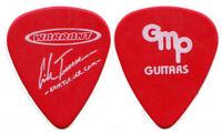 WARRANT Guitar Pick : 2001 Tour Erik Turner signature red GMP