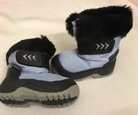 Brand New Mammal Kids Child's Snow Flake Pale Blue Snow Boot Eu 18 / 19 uk 2 / 3