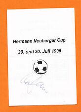 Fußball Schriftstück & -graphen von Sportlern aus Deutschland