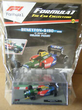 """Panini F1 Car collection """"BENETTON B190 - 1990"""" Nelson Piquet. 1:43, New/Sealed"""