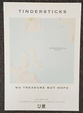 Tindersticks No Treasure But Hope 2019 Promo Poster City Slang Records
