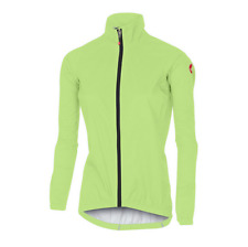 Castelli Cycling Emergency W Jacket Womens Small Yellow-Fluo