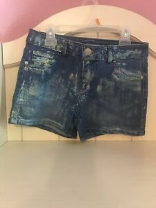 Justice Girl's Jeans Shorts Size 14 Regular