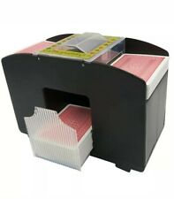 Brybelly 4 Deck-Automatic-Battery Operated-Casino Playing Card Shuffler