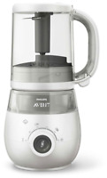 Avent 4-IN-1 HEALTHY BABY FOOD MAKER - UK PLUG Infant Feeding Weaning BN