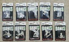 Reaper Bones: Dark Heaven Legends Miniatures, Lot of 10 minis, 77200's