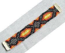Perlenband grau mini Perlen 935 Indianer Dekoband Schneider Dekorieren Nähen