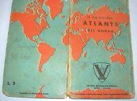 1941  IL PIU' PICCOLO ATLANTE DEL MONDO ,PROF. VISCEGLIA , Ist.Geografico Centr.