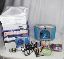 MTV Karaoke The Singing Machine SMGK-1000 - Complete in Box w/ 11 CDs - WORKS