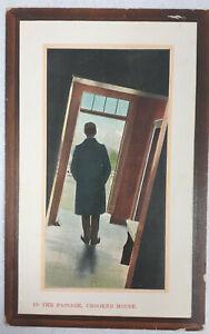 Art Deco era Postcard 'The Crooked House' John Price. Unused.