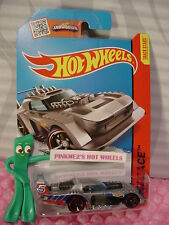 Case P/Q 2015 i Hot Wheels TWO TIMER #177☆Gray/Black/Metal; 5☆HW Race☆Track Aces