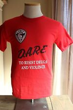 Franklin Wisconsin DARE Drug Shirt S
