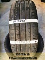 2 Gomme 235/55/19 105v Pirelli Pneumatici Scorpion Verde