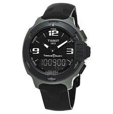 Tissot Men's T081.420.97.057.01 T-Race Touch Black Dial Swiss Quartz Watch