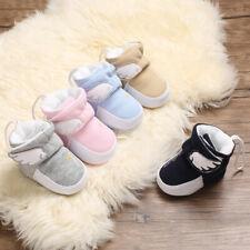 Newborn Gift Toddler Comfortable Booties Baby Boy Girl Angel Wings Warm Boots