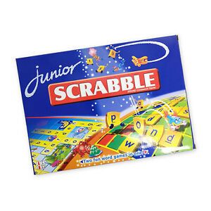 Scrabble Junior Board Game Scrabble Family Game Kid Educational AU stock