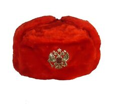ouchanka russe chapeau hiver militaire style W / IMPERIAL AIGLE Crête taille L