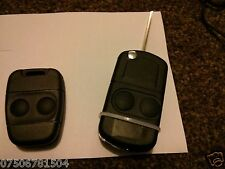 Land Rover Freelander TD4 TD5 MK1 2 BUTTON REMOTE FLIP KEY CONVERSION FOB CASE