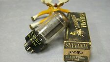 25AV5GT Sylvania Vintage Vacuum Tube in Original Box