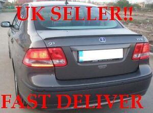 Saab 9-3 II Saloon Boot Lip Spoiler 2003-2008 UK SELLER