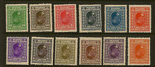 YUGOSLAVIA :1926 King Alexander definitives 25p-30D  SG209-220 mint