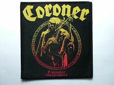 CORONER WOVEN PATCH