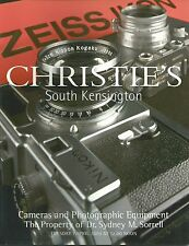 CHRISTIE'S CAMERAS LEICA NIKON CANON Sorrell Collection Catalog 2003