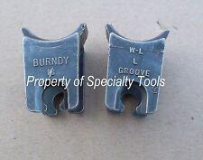 Burndy W-L Crimper crimping W die Hydraulic 6 Ton Wl Crimp set Burndy index L