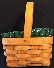 Longaberger Baskets Small Horizon Of Hope Basket Liner Protector 1995