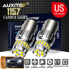 AUXITO CANBUS LED Tail Brake Car Truck DRL Light White 1157 BAY15D 2057 2357