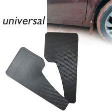 2X Universal Racing Car Mudflaps Wheel Moulding Fender Mudguard Plastic Grade