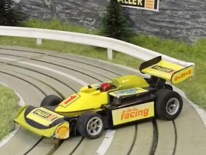 AURORA AFX / G-Plus   FALLER AMS RACING TEAM   yellow - black #1   USED   VHTF