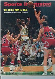 CALVIN MURPHY signed Sports Illustrated Magazine 11/16/70 IP 10/17/07