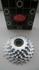 Vintage Classic 80's Everest Silver  6 Sd Freewheel 4 Campagnolo Hubs 14-26 RARE