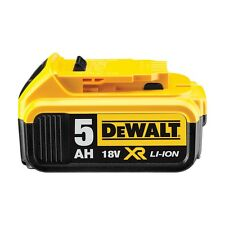 Genuine Dewalt DCB184 18v 5.0Ah XR Li-Ion 5ah Lithium Slide Battery