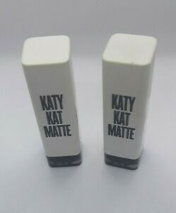 Lot of 2 Katy Perry Katy Kat Matte Lipstick, KP11 Perry Panther